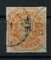 Preussen: 2 Kr. MiNr. 23 1867 Gestempelt / Used / Oblitéré - Preussen (Prussia)
