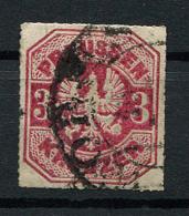 Preussen: 3 Kr. MiNr. 24 1867 Gestempelt / Used / Oblitéré - Preussen (Prussia)