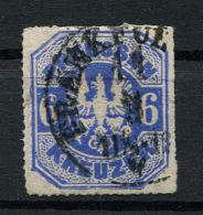 Preussen: 6 Kr. MiNr. 25 1867 Gestempelt / Used / Oblitéré - Preussen (Prussia)