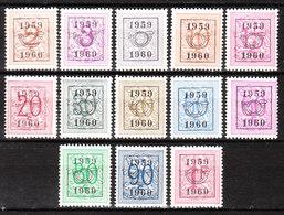 PRE686/98**  Chiffre Sur Lion - Année 1959 - Série Complète - MNH** - LOOK!!!! - Precancels