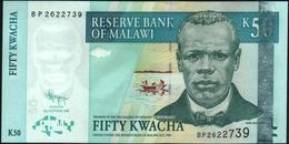 MALAWI - 50 Kwacha 31.10.2009 UNC P.53 D - Malawi
