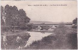 54. BAYON. Le Pont De La Moselle. 6041 - Andere Gemeenten