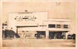 Morocco Meknes Place De Gaulle Camera Building Postcard - Altri