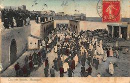 Morocco Mazagan Custom House Street Partial View Postcard - Cartoline