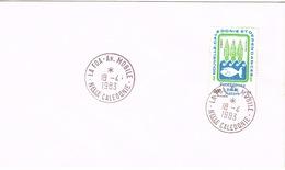 Nouvelle Caledonie New Caledonia Cachet A Date La Foa Annexe Mobile 1983 Us Courant Rare - Neukaledonien