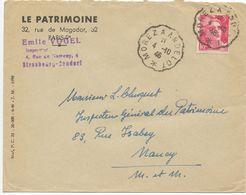 JURA CP 1946 MOREZ A ANDELOT CONVOYEUR - Postmark Collection (Covers)