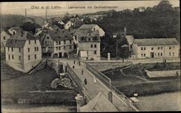Cp Diez An Der Lahn, Lahnbrücke Mit Sachsenhausen - Allemagne