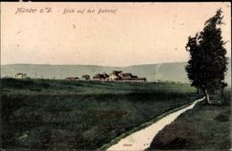 Cp Bad Münder Am Deister, Blick Auf Den Bahnhof - Allemagne