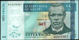 MALAWI - 50 Kwacha 30.06.2011 UNC P.53 E - Malawi