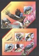ST2660 2014 NIGER FAUNA BIRDS RAPTOR LES RAPACES  KB+BL MNH - Aigles & Rapaces Diurnes