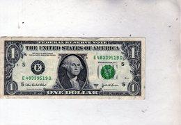 Billet De 1 Dollar Des Etats-Unis Séries 2003 A  - - United States Of America