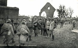SOMME FRONT THE FRENCH ADVANCE - Autres Communes