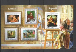ST1984 2015 NIGER ART PAINTINGS  RAPHAEL 1SH MNH - Arte