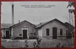 Cpa 33 LIBOURNE Fondation Etienne Sabatié - Libourne