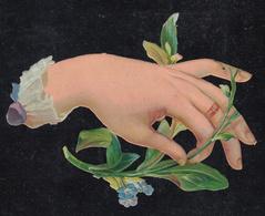 Découpi  Fleur Main  Découpis 85 X  65 Mm - Découpis