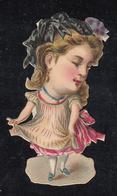 Découpi  Enfant Fille  Découpis 35 X 60 Mm - Enfants