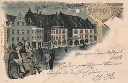 """Muenchen / 1898 / Gruss Aus - Color-AK """"Hofbraeuhaus"""" (2488) - Muenchen"""