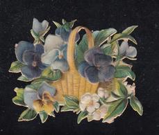 Découpi  Fille  Découpis 45 X 35 Mm - Fleurs