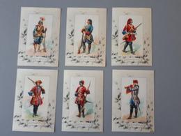 Cartes Des Uniformes De Dragons Ancien Régime 1643 à 1744  & - Documents