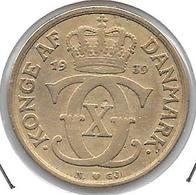 *denmark 1 Krone 1939  Km 824.2  Vf+ - Dänemark