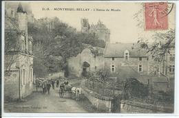 Montreuil-Bellay- L'Entrée Du Moulin - Montreuil Bellay