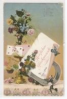 P 226 , OLD FANTASY POSTCARD , PENSEE , GREETINGS , HERZLICHEN GLÜCKWÜNSCH - Wensen En Feesten