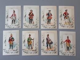 Cartes Des Uniformes De Dragons Ancien Régime 1646 à 1776  & - Documents