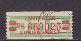 ZKD Wertstreifen Dienstmarken-B Michel Nr. 31 II B - Servizio