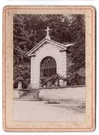 * - Photo Fin 19e De La Région Lyonnaise - A Localiser - Tombeau Du Maréchal Castellane à Caluire - Lieux