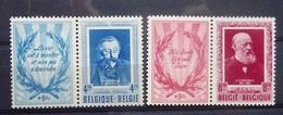 BELGIE 1952    Nr. 898 - 899      Spoor Van Scharnier *    CW  140,00 - Belgium