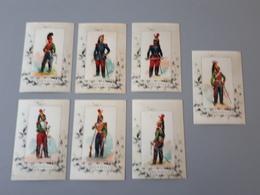 Cartes Des Uniformes De Dragons Second Empire 1818 à 1871  & - Documents