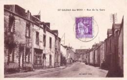 44 - Loire Atlantique -  SAINT GILDAS Des BOIS - Rue De La Gare - France