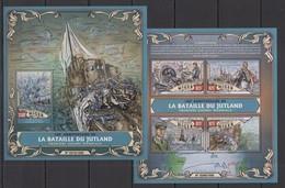 ST1836 2016 NIGER WORLD WAR I WWI 100TH ANNIVERSARY BATLLE OF JUTLAND KB+BL MNH - WW1 (I Guerra Mundial)