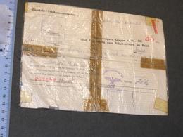 FELDKOMMANDANTUR VERVIERS - 31/3/45-BESCHEINIIIGUNG GRUPPE A.. UBER FREISTELLUNG VOM ARBEITSEINSATTZ IM REICH - 1939-45