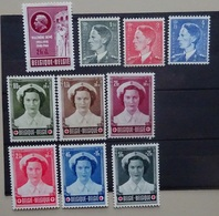 BELGIE 1953    Nr. 908 /  909 - 911 /  912 - 917  Postfris *     CW  77,25 - Bélgica