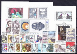 ** Slovaquie 1996 Mi 245-270, (MNH) L'année Complete - Slovakia