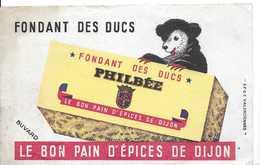 Buvard Ancien FONDANT DES DUC -le Bon Pain D'épices De Dijon - Peperkoeken