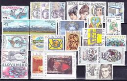 ** Slovaquie 1999 Mi 329-358, (MNH) L'année Complete - Slovakia
