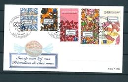 [2390] Zegels 4185 - 4189 Gestempeld - Belgique
