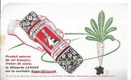 Ancien Buvard CHICOREE LEROUX - Café & Thé