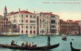 ITALIE VENEZIA GRAND HOTEL D'ITALIE BAUER GRUNVALD CIRCULEE - Venezia (Venice)
