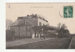 Riscle ( Gers) La Gare Du Midi , Train - Riscle