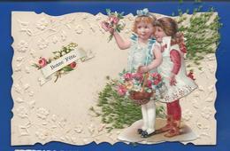Bonne Fête  Petite Filles   Fleurs    Ajouti - Autres