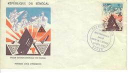 SENEGAL 1974 - FOIRE INTERNATIONAL DE DAKAR - FDC - Senegal (1960-...)