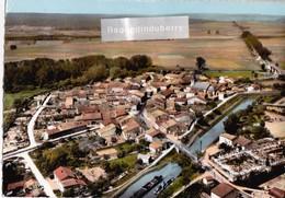 CPSM - 55 - PAGNY-sur-MEUSE - Vue Aérienne - CANAL PENICHE ( Carte Adress Par Habitant Commune Pour Jeu Concours ) 1965 - France