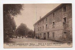 - CPA LES ECHARMEAUX (69) - Hôtel De La Scierie CHUZEVILLE 1926 (avec Personnages) - Edition AB 529bis - - Other Municipalities