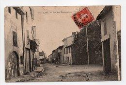 - CPA ANSE (69) - Rue Des Marronniers 1911 - Edition S. F. 732 - - Anse