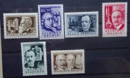 BELGIE 1955    Nr. 973 - 978    Postfris **      CW  42,00 - Belgique