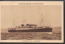 MESSAGERIES MARITIMES    MARECHAL JOFFRE   (theme) - Guerre