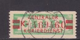 ZKD Wertstreifen Dienstmarken-B Michel Nr. 31 II K - Servizio